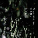 宮沢和史『留まらざること 川の如く』